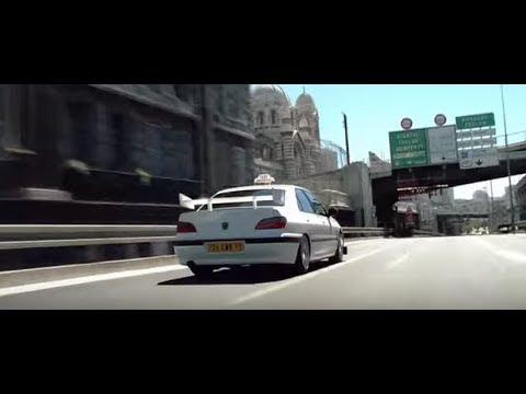 Taxi (1998) - Daniel Show His Driving Skills