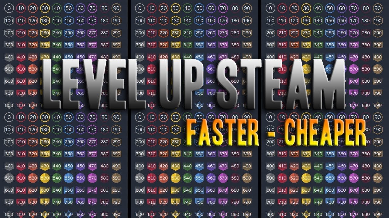Steam Level Up