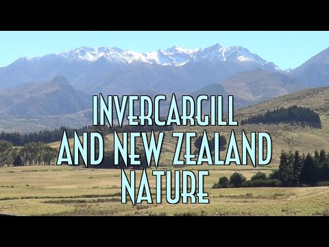 Invercargill and New Zealand Nature - EMVB - Emerson Martins Video Blog 2015
