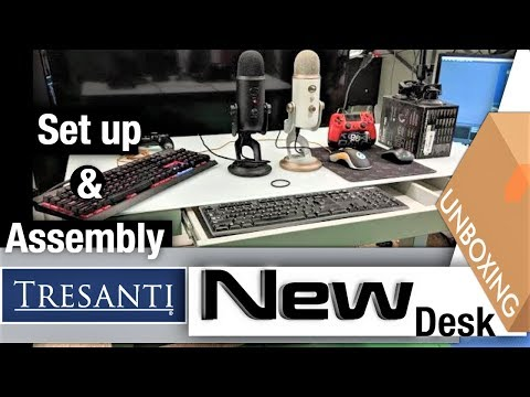 Tresanti ☝️↕️ Adjustable Height Desk 📦 Costco Unboxing 2019