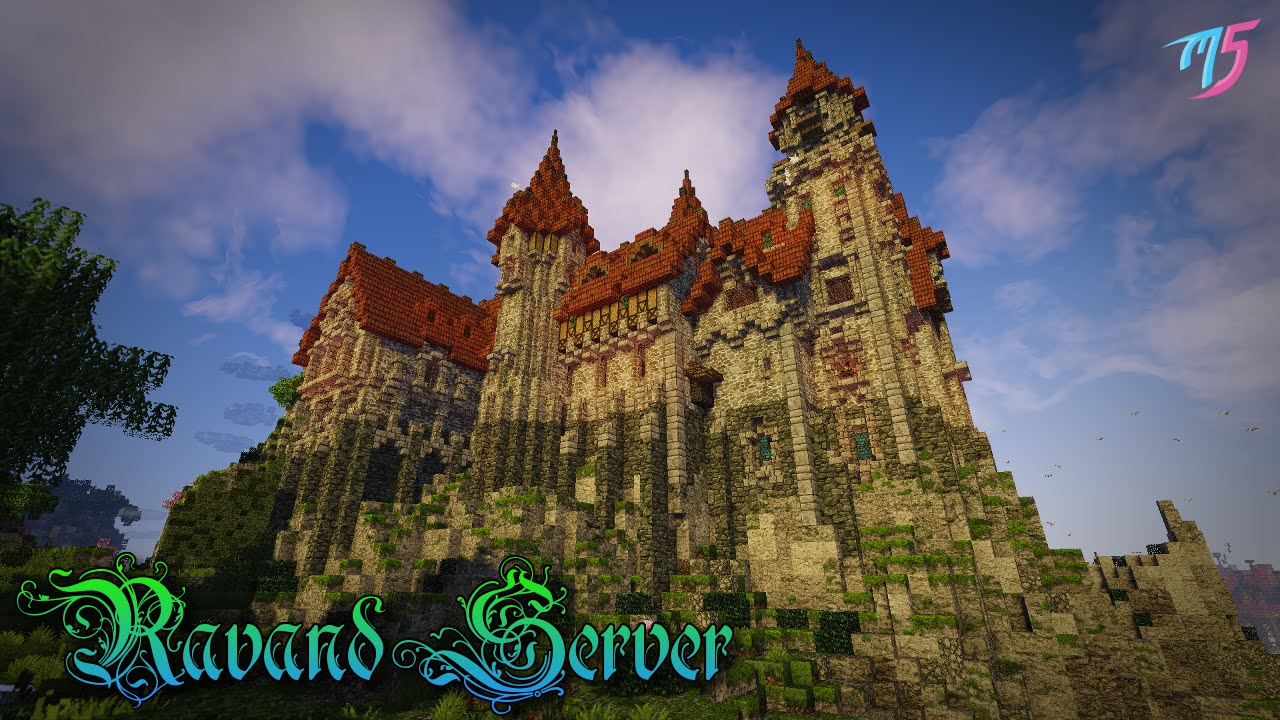 how to make a medieval castle door in minecraft
