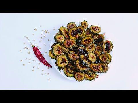 Bitter gourd stir fry recipe || Healthy Karela stir fry recipe || Kakarakai Vepudu