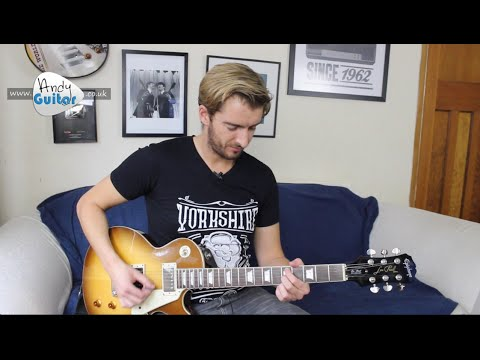 Foo Fighters  Times Like These  Guitar Lesson Tutorial