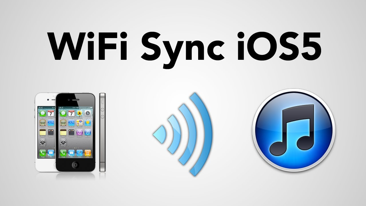 how to sync iphone with ipad how to setup wifi sync in ios5 with 3 iphone 4s 4 19130