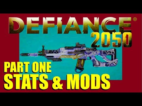 How To Stats And Mods - Part One - Crit - Fire Rate - Reload - Defiance 2050 Tutorial