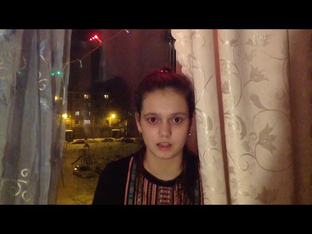 Изображение предпросмотра прочтения – АнастасияЕгоркина читает произведение «Ночь, улица, фонарь, аптека…» А.А.Блока
