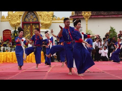 พิธีรำบูชาพระธาตุพนม 2557 4 2014 Dance to honor Prathatphanom