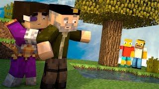 Minecraft | LA FAMILIA SIMPSON!! c/ Vegetta | Minijuego BUILD BATTLE