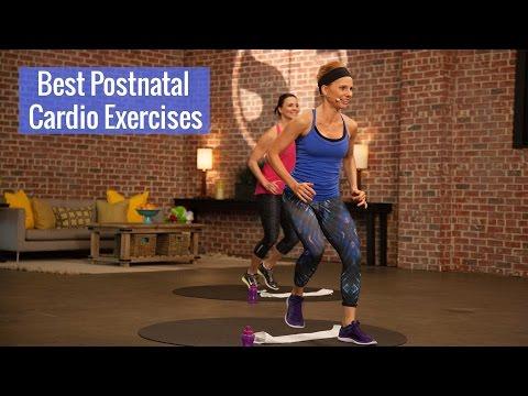 Postnatal Cardio Exercises