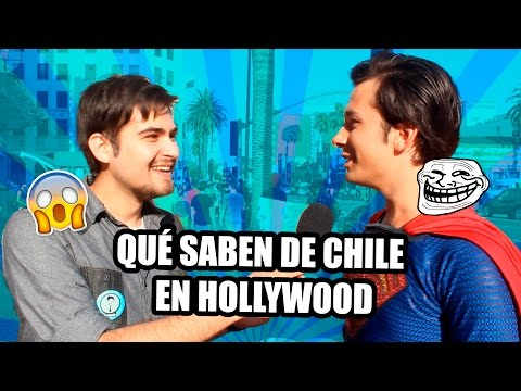 ¿Qué opinan de Chile en Hollywood Estados Unidos? - Fabio Torres