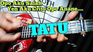 Didi Kempot Tatu Versi Ukulele Cover By Habib Citull