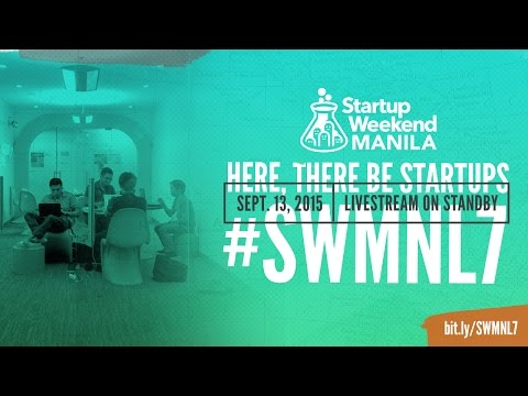 Startup Weekend Manila 2015 - Final Pitch
