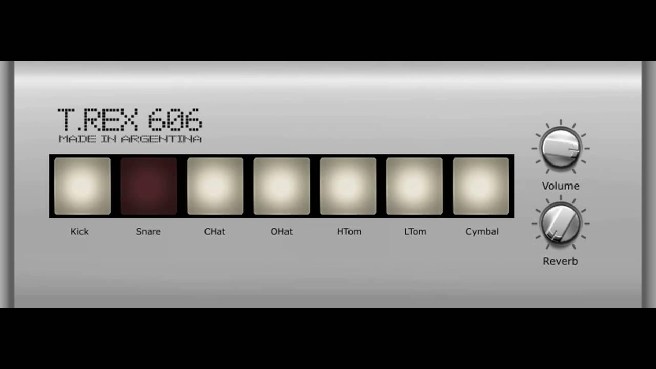 free roland tr 606 drum machine vst emulation youtube. Black Bedroom Furniture Sets. Home Design Ideas