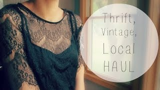 HAUL: Thrift, Vintage, Local Thumbnail