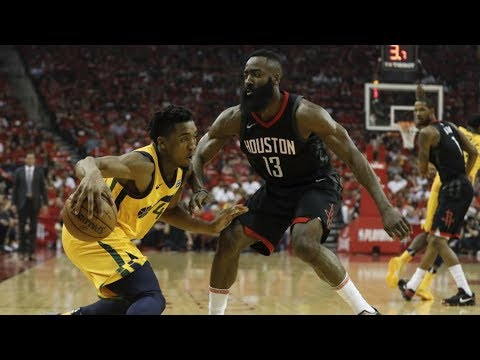 Harden 41 Pts! Rockets Dominate Jazz Game 1! 2018 NBA Playoffs