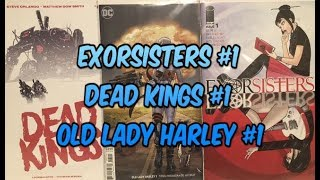 "Comic Book Reviews ""Dead Kings #1, Exorsisters #1, Old Lady Harley #1"" Subscribe For More"