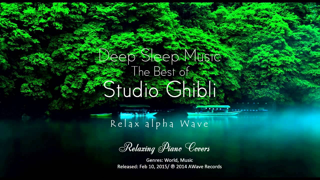 Best Relaxing Piano Studio Ghibli Complete Collection 2016 ...