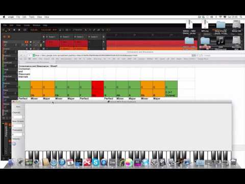 Music Theory for EDM Part 29: Consonant and Dissonant Intervals 1