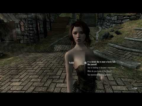 Sexified Skyrim - Wenches Gone Wild - Part 3 (Ysolda Has A Need