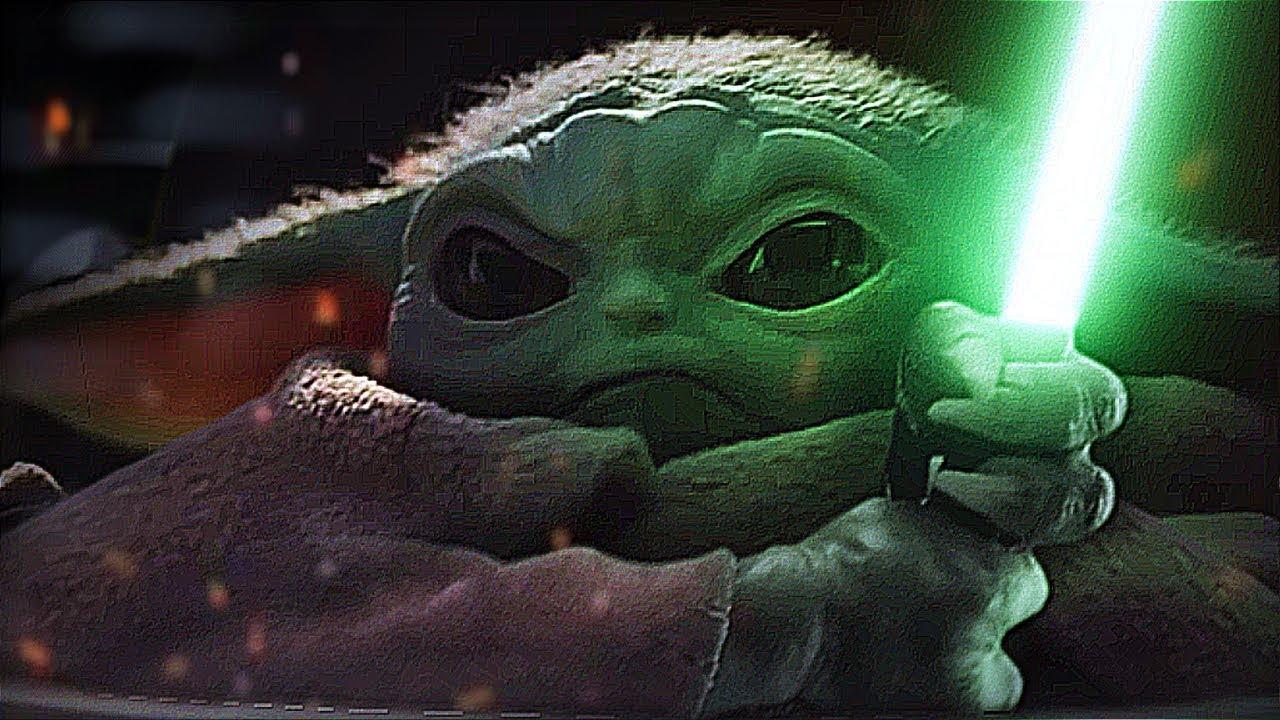 Baby Yoda Vs Darth Sidious 2