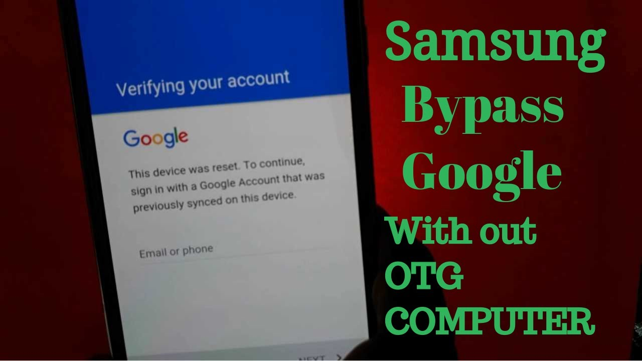 NEW METHOD BYPASS GOOGLE Account Samsung (WITH OUT OTG /PC)