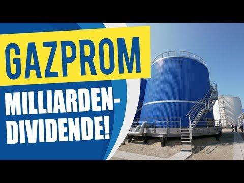 Gazprom: 10% Dividende + hohe Kurs-Gewinne?