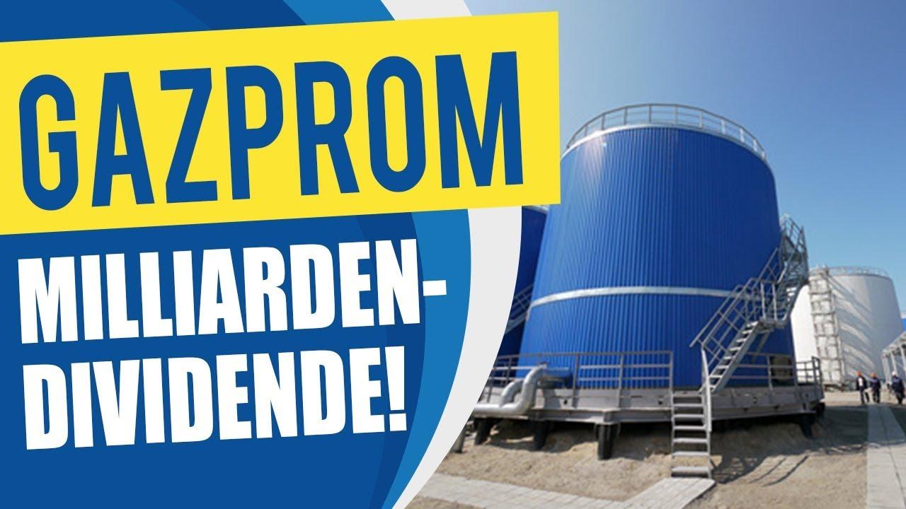 gazprom dividende stichtag