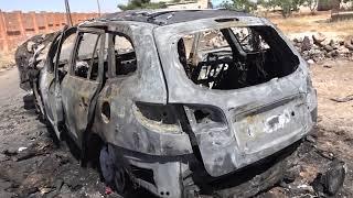 شهداء وجرحى في ابلين  وتصعيد عنيف على قرى وبلدات أخرى في جبل الزاوية بريف إدلب