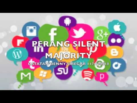 Denny Siregar - PERANG SILENT MAJORITY