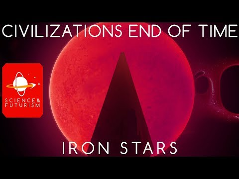 Civilizations at the End of Time: Iron Stars