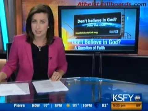 Atheist Billboards - Sioux Falls, SD - South Dakota Coalition of Reason - Local news