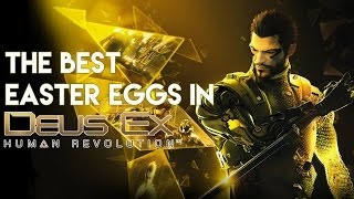 So with Deus Ex Mankind Divided coming out shortly what better time to look at the best Easter eggs in Deus Ex Human Revolution Overall the game is a little