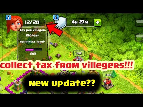 COLLECT TAX FROM VILLEGERS IN CLASH OF CLANS IN HINDI!!!