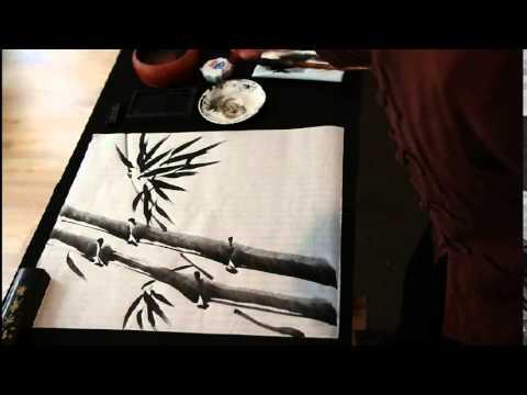 Chinesisch Tuschmalerei Bambus Www Shudao De Youtube