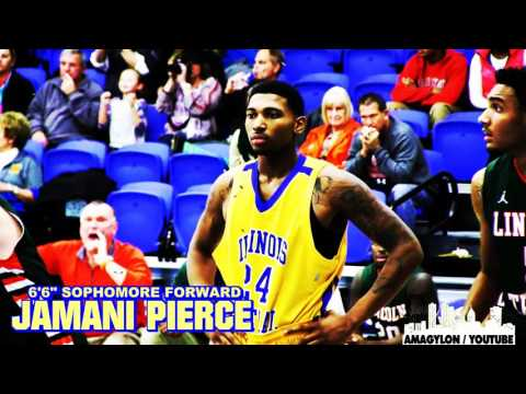 "[ 309 Sports ] Illinois Central College 6'6"" Forward Jamani Pierce"