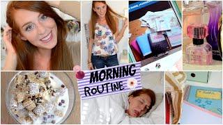 MORGENROUTINE FÜR DIE SCHULE! SCHOOL MORNING ROUTINE | LaurenCocoXO Thumbnail