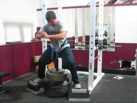 Hip Belt Squat Youtube