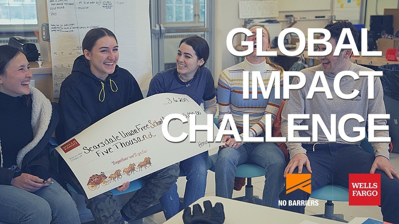 Wells Fargo Global Impact Challenge – No Barriers Youth