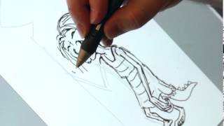 THE CROODS - Drawing Tutorial - Gran