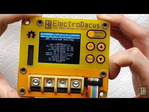 Solar Battery Management System SBMS100
