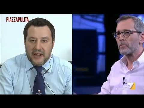 """Coronavirus, Salvini: """"Il servizio del TGLeonardo? Io non sono tranquillo sapendo che nei..."""