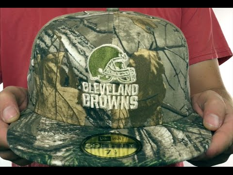 Browns  NFL TEAM-BASIC  Realtree Camo Fitted Hat by New Era - YouTube 9f6053cd1