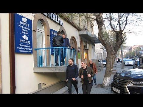 Yerevan, 11.04.17, Tu, Video-2, Tumanyan Poghots