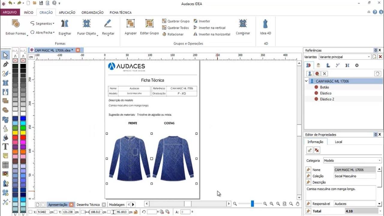 Audaces 360 demonstrao moda masculina youtube audaces 360 demonstrao moda masculina ccuart Choice Image