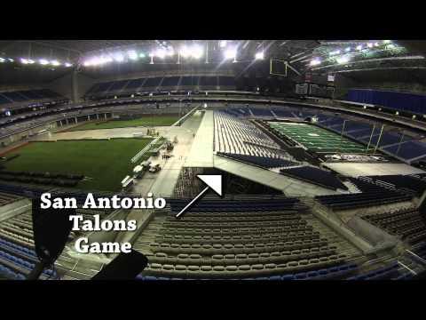 Texas Rangers Baseball at the Alamodome