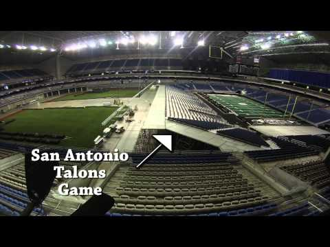 Texas Rangers Baseball at the Alamodome