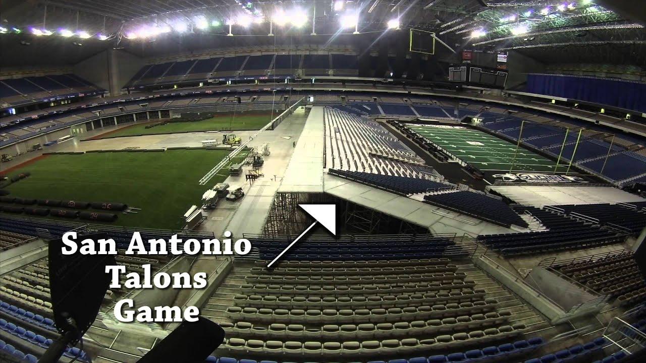 Texas Rangers Baseball At The Alamodome Youtube