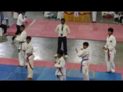Taekwondo group pattern ( Won-hyu)