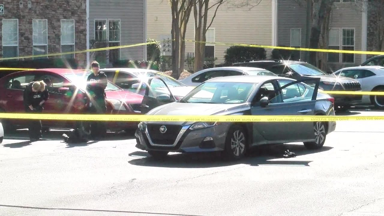 RAW VIDEO: Scene after multiple people shot at NC apartments