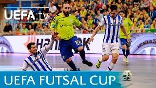 UEFA Futsal Cup semi-final highlights: Pescara v Inter